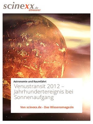 cover image of Venustransit 2012