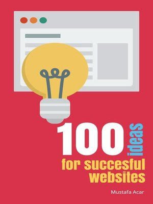 cover image of 100 ideas for succesful websites