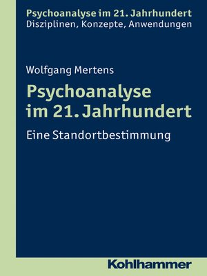cover image of Psychoanalyse im 21. Jahrhundert