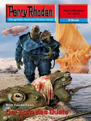 cover image of Perry Rhodan 2433