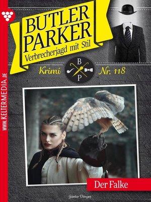 cover image of Butler Parker 118 – Kriminalroman