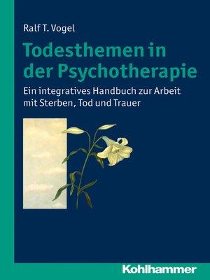 cover image of Todesthemen in der Psychotherapie