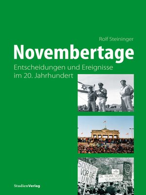 cover image of Novembertage