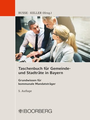 cover image of Taschenbuch für Gemeinde- und Stadträte in Bayern