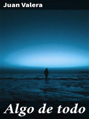 cover image of Algo de todo