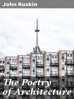 cover image of The Poetry of Architecture