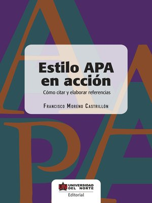 cover image of Estilo APA en acción