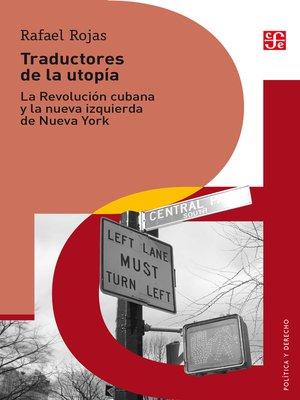 cover image of Traductores de la utopía