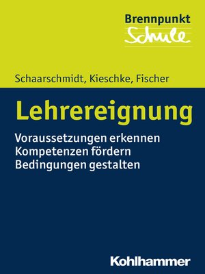 cover image of Lehrereignung