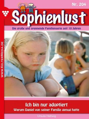 cover image of Sophienlust 204 – Familienroman