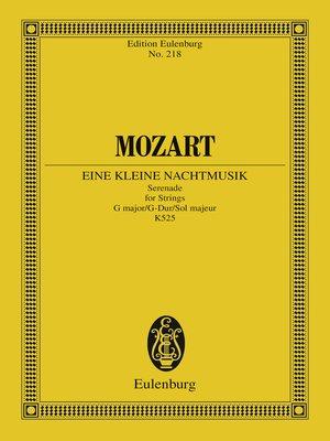 cover image of Eine kleine Nachtmusik