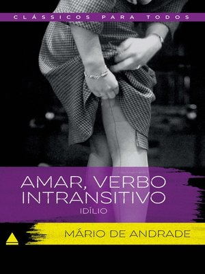 cover image of Amar , Verbo Intransitivo