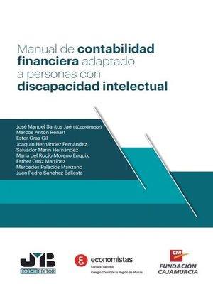 cover image of Manual de contabilidad financiera adaptado a personas con discapacidad intelectual