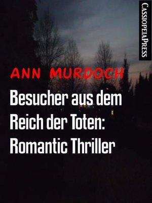 cover image of Besucher aus dem Reich der Toten