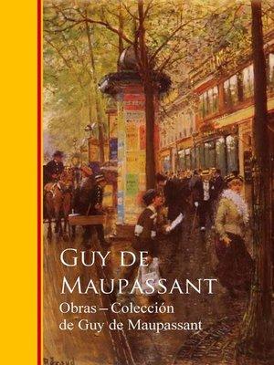 cover image of Obras completas Coleccion de Guy de Maupassant