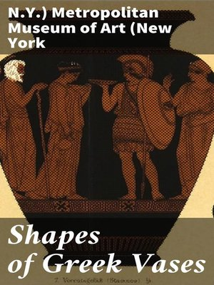 cover image of Shapes of Greek Vases