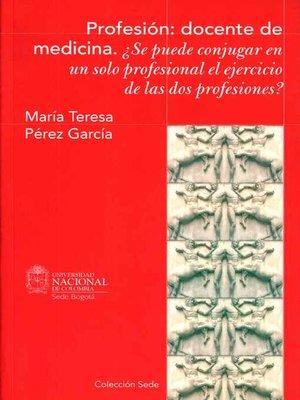 cover image of Profesión