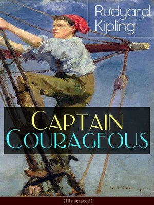 cover image of Captain Courageous (Illustrated)
