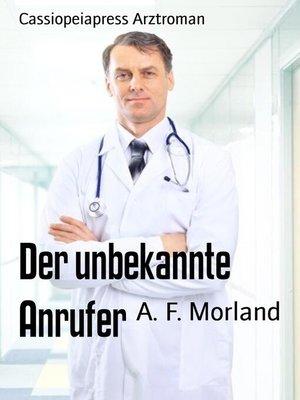 cover image of Der unbekannte Anrufer