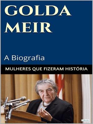 cover image of Golda Meir
