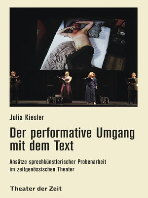 cover image of Der performative Umgang mit dem Text