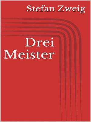 cover image of Drei Meister