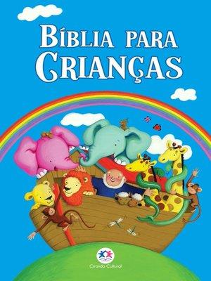 cover image of Bíblia para crianças