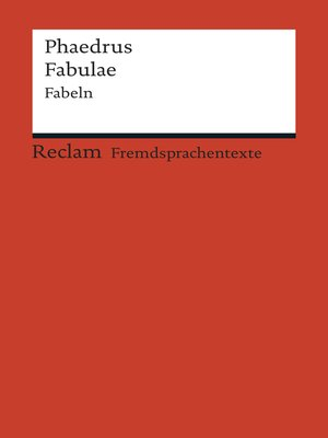 cover image of Fabulae