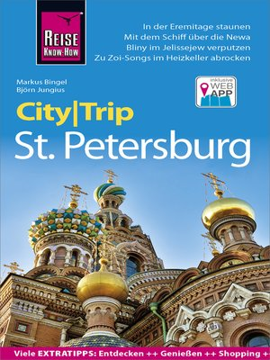 cover image of Reise Know-How CityTrip St. Petersburg