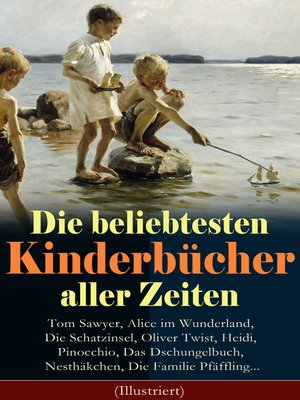 cover image of Die beliebtesten Kinderbücher aller Zeiten
