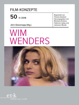 cover image of FILM-KONZEPTE 50--Wim Wenders