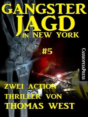 cover image of Gangsterjagd in New York #5
