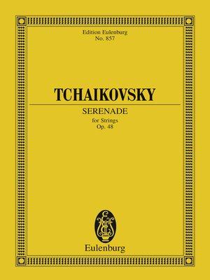 cover image of Serenade C major