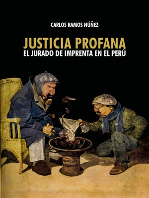 cover image of Justicia profana