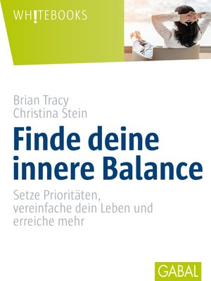 cover image of Finde deine innere Balance