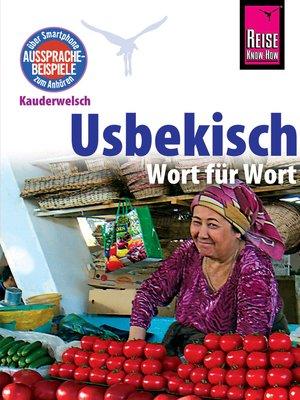 cover image of Usbekisch--Wort für Wort