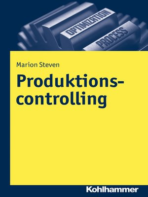 cover image of Produktionscontrolling