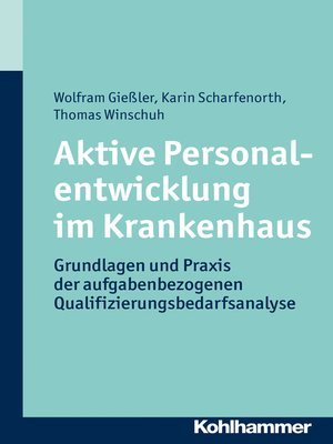 cover image of Aktive Personalentwicklung im Krankenhaus