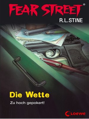 cover image of Fear Street 56--Die Wette