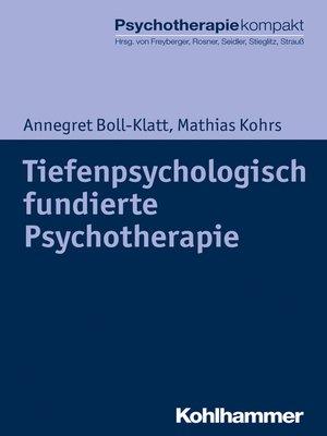 cover image of Tiefenpsychologisch fundierte Psychotherapie