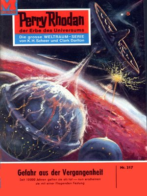 cover image of Perry Rhodan 217
