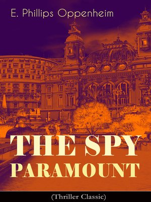 cover image of The Spy Paramount (Thriller Classic)