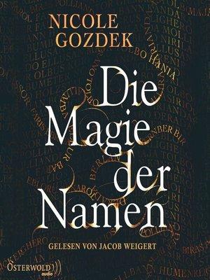 cover image of Die Magie der Namen