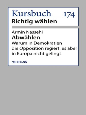 cover image of Abwählen!