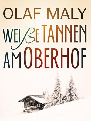 cover image of Weiße Tannen am Oberhof