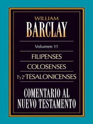 cover image of Comentario al Nuevo Testamento Volume 11