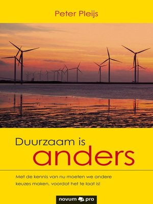 cover image of Duurzaam is anders