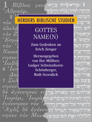 cover image of Gottes Name(n)
