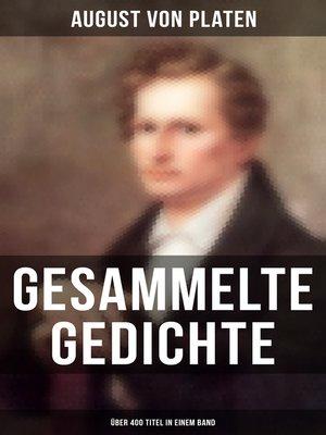 cover image of Sämtliche Gedichte (Über 400 Titel in einem Band)