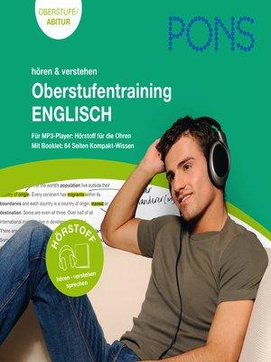 cover image of PONS Englisch Oberstufentraining